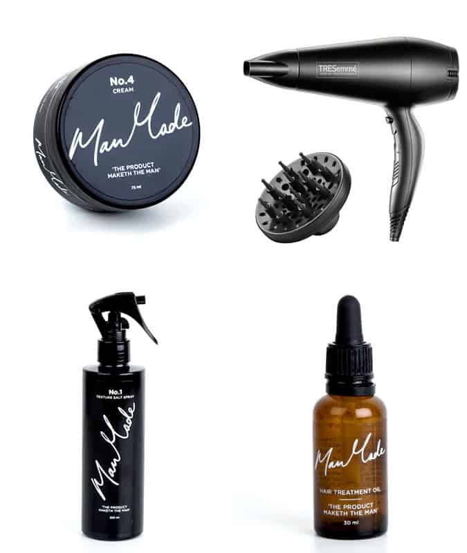 Men's Long Wavy Hair Products