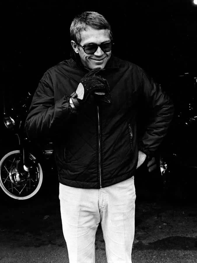 Steve McQueen's Style Fashion Outfit Lookbook