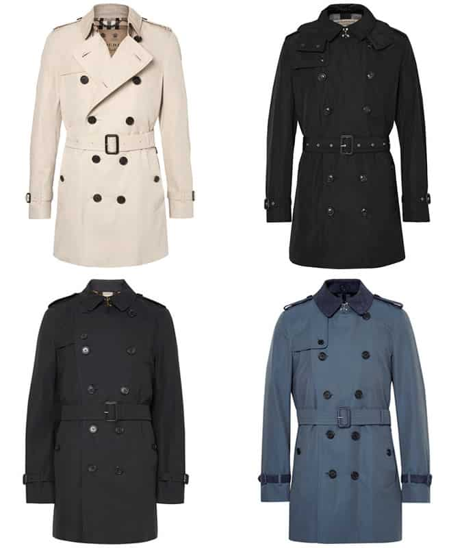 The Burberry Trench Coat for Men