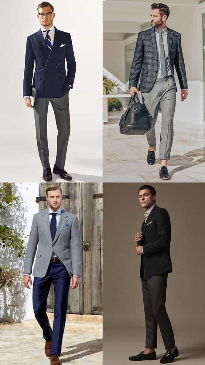 The best men's suit blazer and trouser combinations