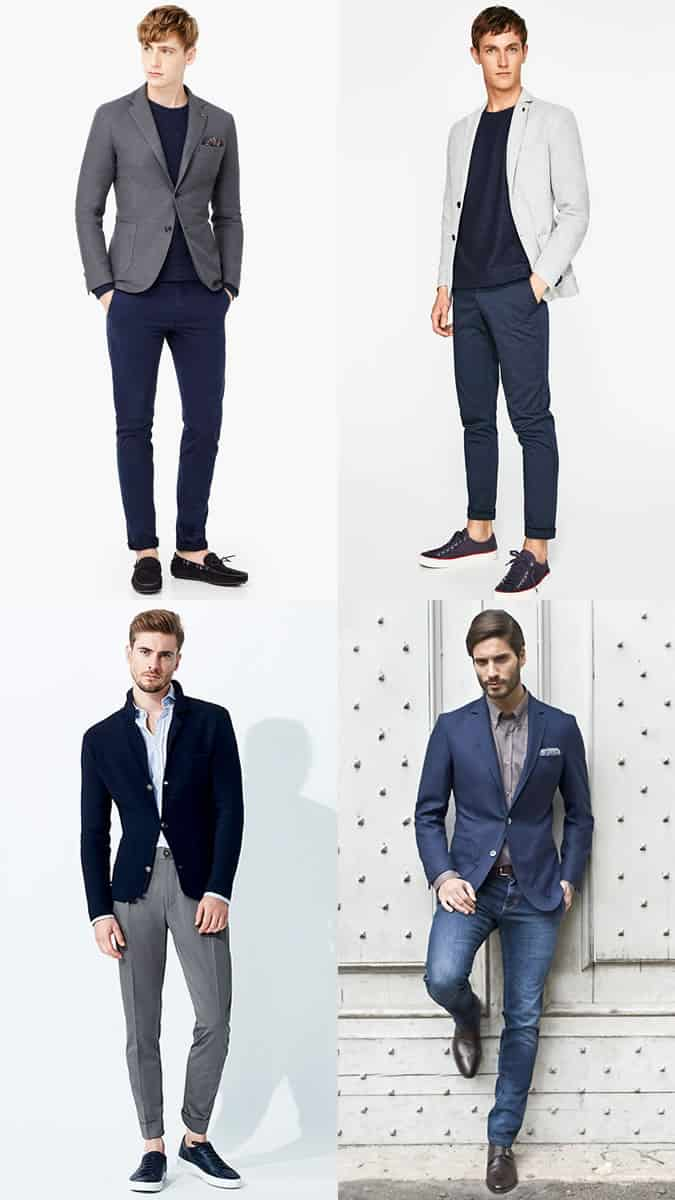 how to wear blazers for smart-casual dress codes