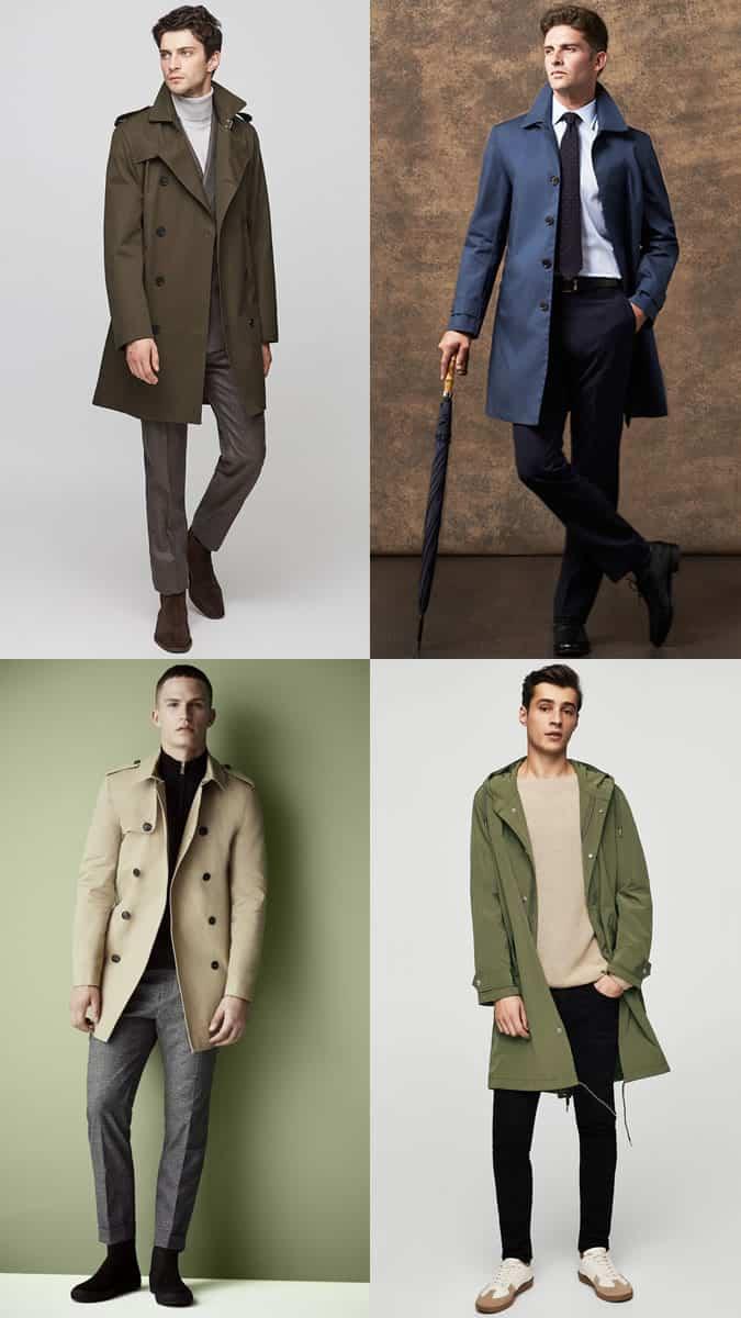 how to wear a stylish raincoat