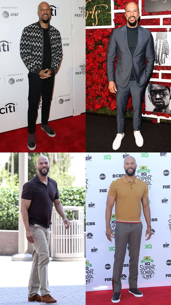 Common as a style icon in his 40s
