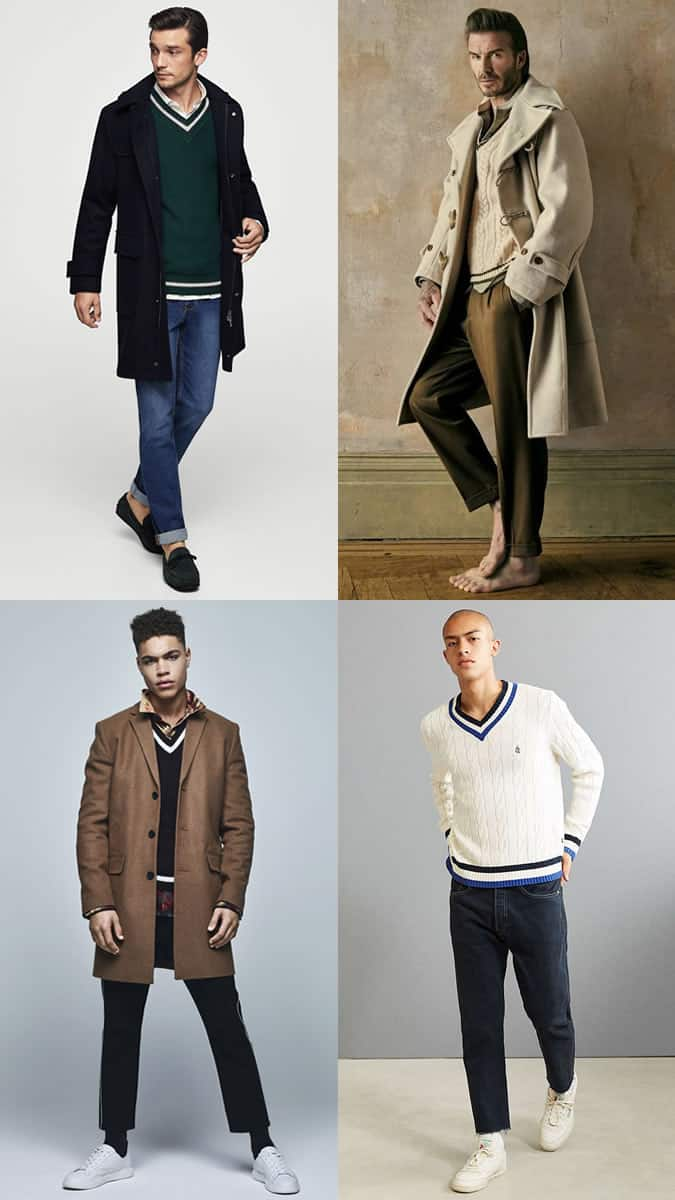 How to wear a cricket sweater