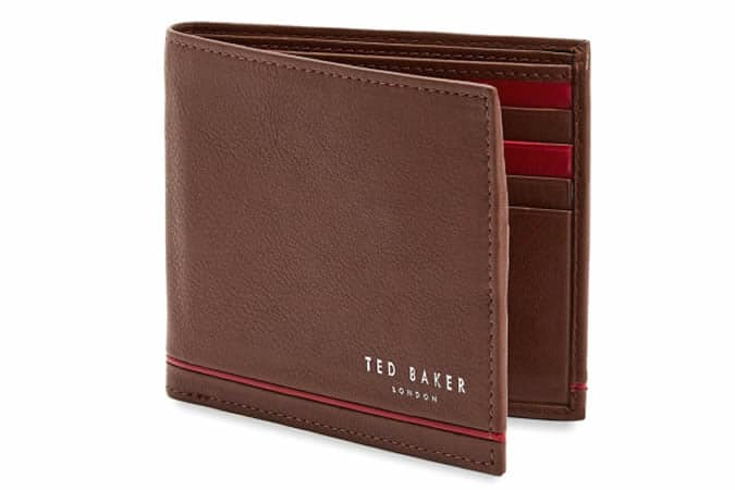 Ted Baker JEEZE Bifold leather wallet