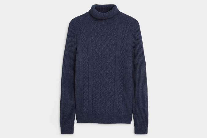 Cable Roll Neck