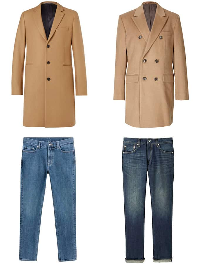 The Best Camel Coats And Jeans