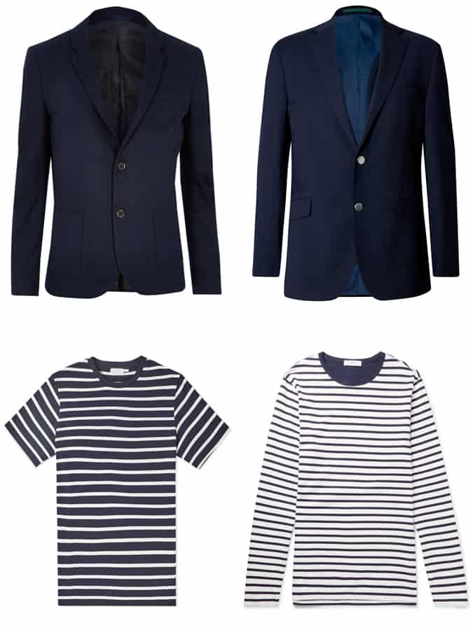 The Best Navy Blazers And Breton Tops For Men