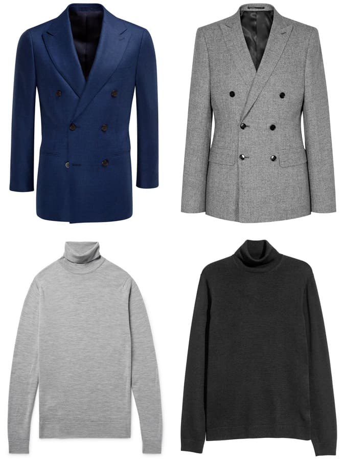 The Best Roll Necks And Double-Breasted Blazers