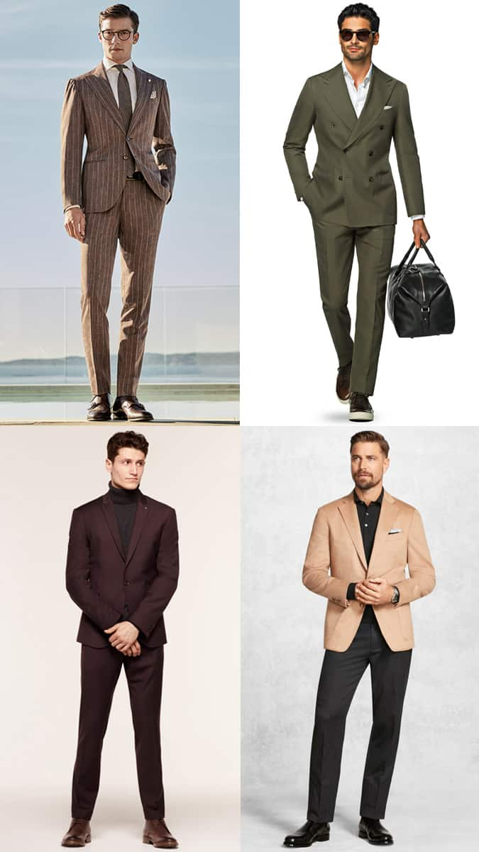 How to wear coloured tailoring and suits