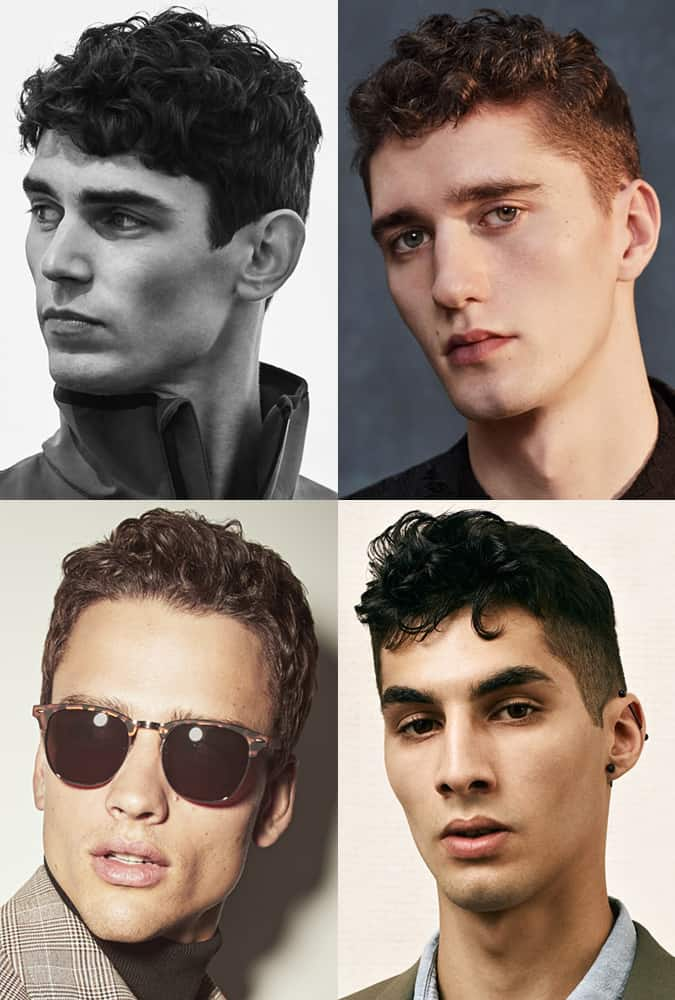 Hairstyles and haircuts for men with wavy hair types