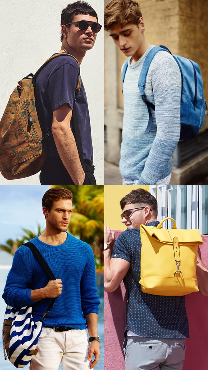 How To Style A Bold Backpack
