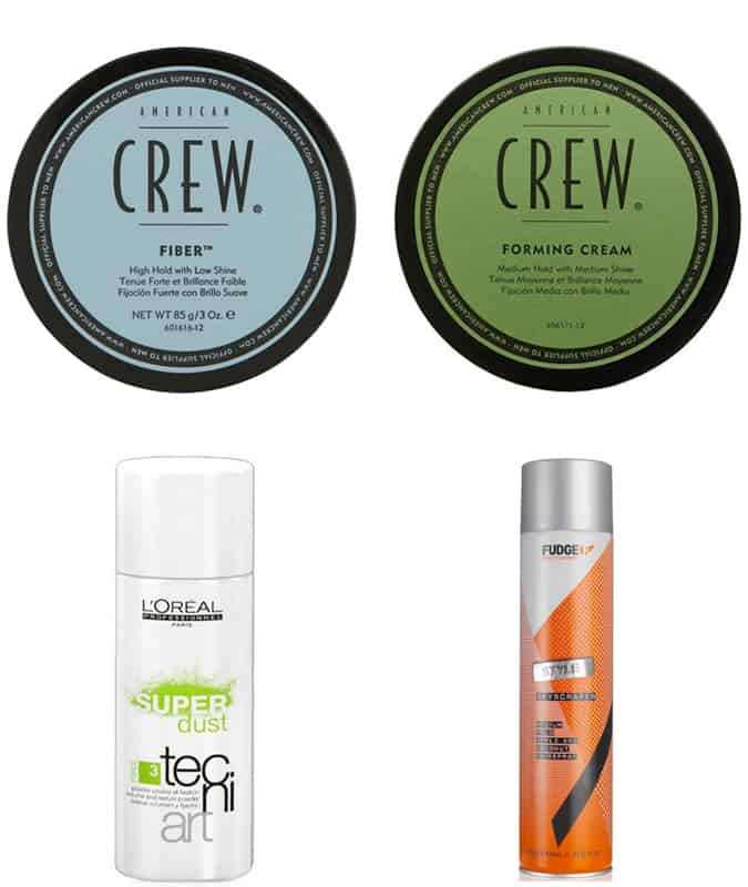 Men's Pompadour and Quiff Hair Products