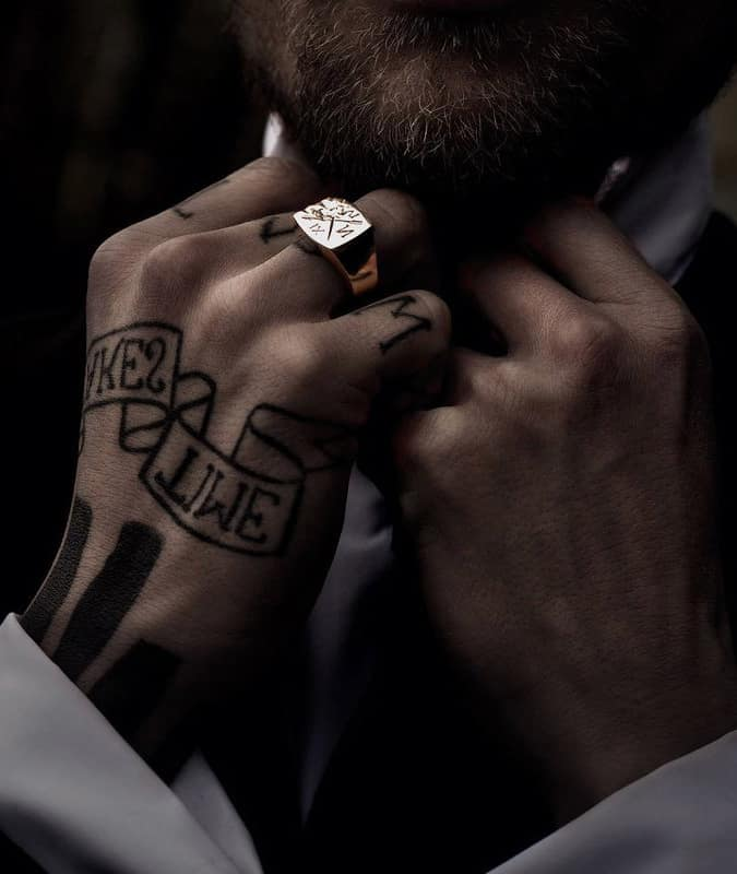 Smith Grey Ring