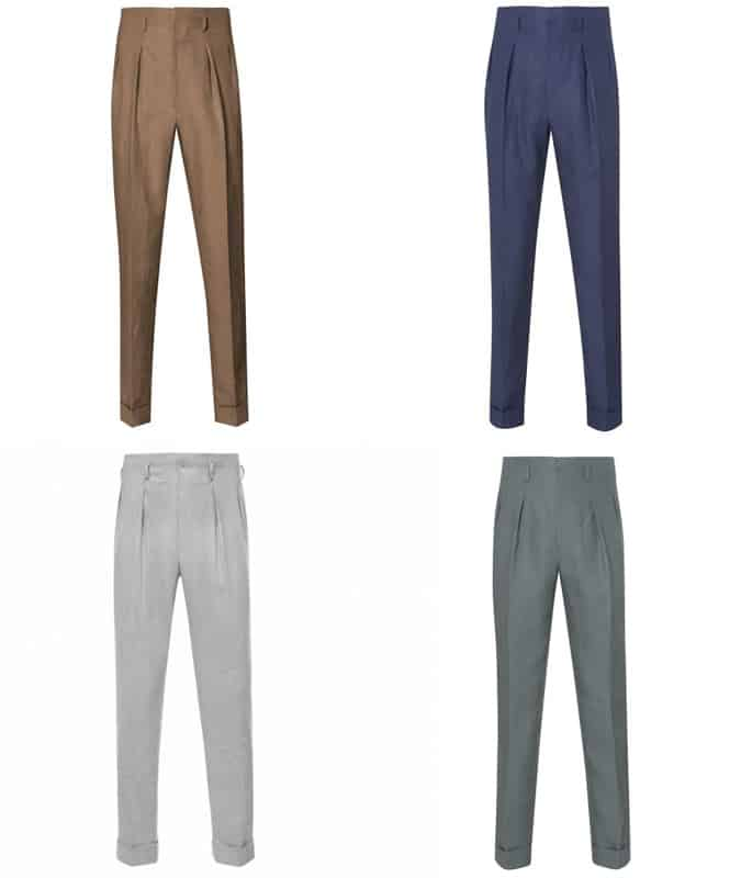 The Best Edward Sexton Pleated Trousers