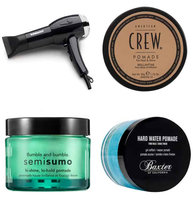 The Best Styling Products For A Tapered Pompadour