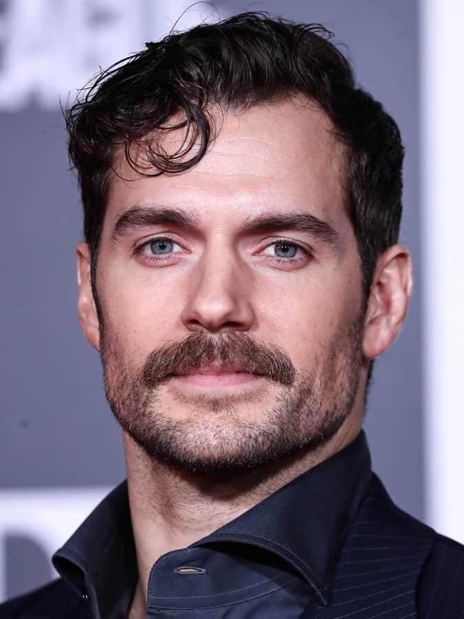 Henry Cavills Moustache