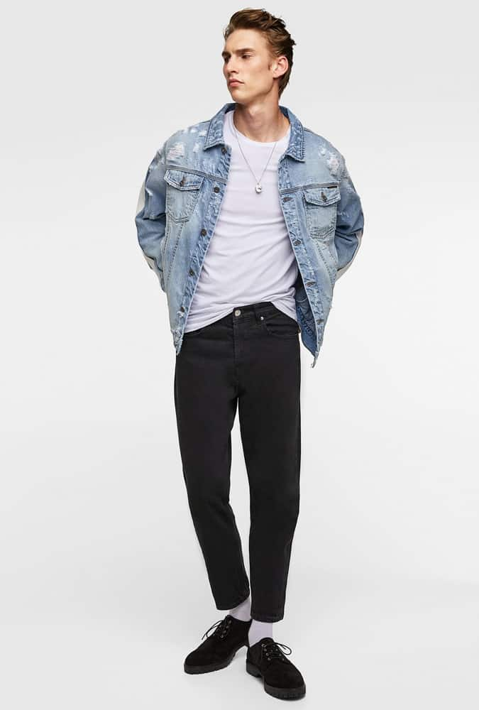 Double Denim Outfits For Men