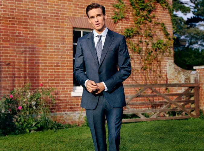 Gieves & Hawkes Navy Suit