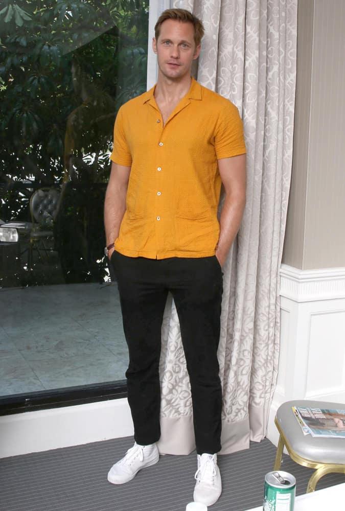 Alexander Skarsgard West Hollywood, USA
