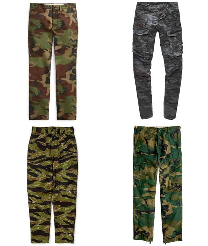 The Best Camouflage Trousers For Men
