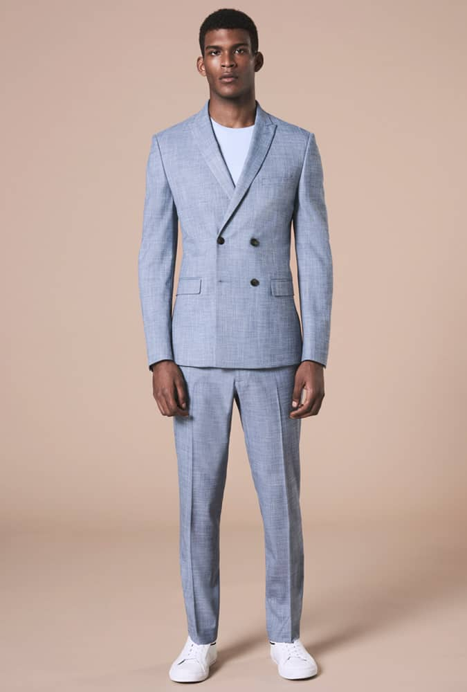 Marks & Spencer Double-Breasted Suit