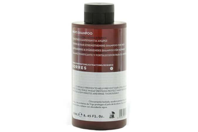 KORRES Men Magnesium & Wheat Proteins Anti Hair Loss Shampoo