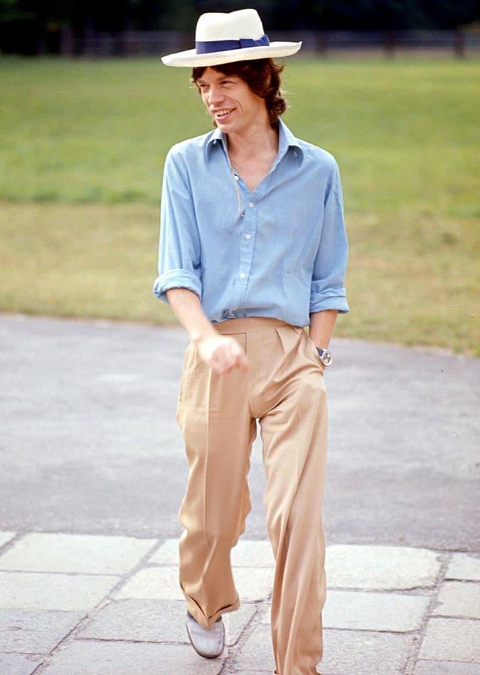 Mick Jagger, 1973
