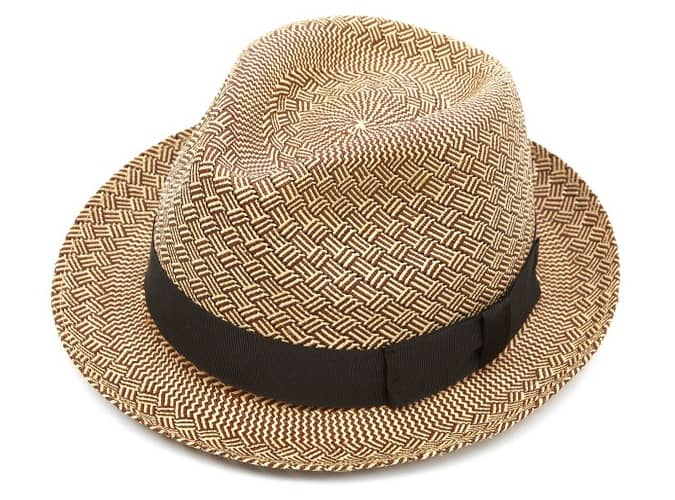 Christys Carnaby Trilby Panama Hat