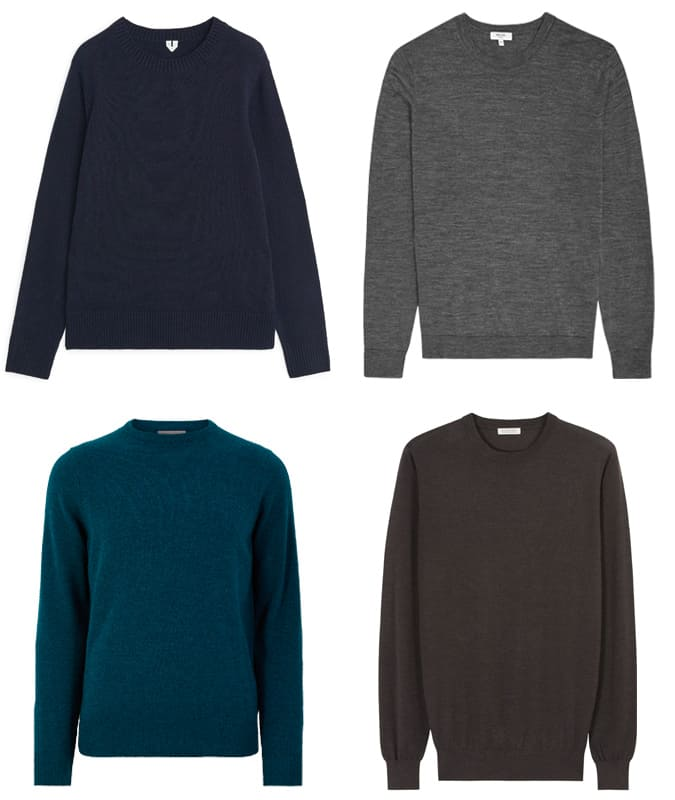 The Best Crew Neck Jumpers For Men