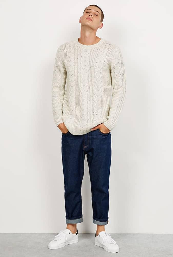 Bershka Cable Knit