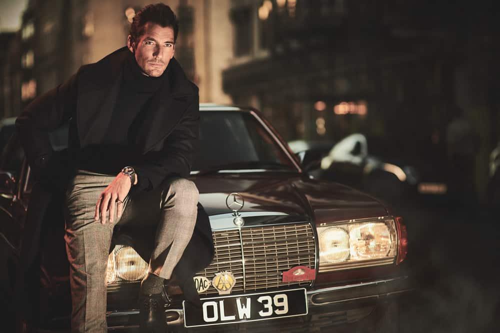 David Gandy For FashionBeans