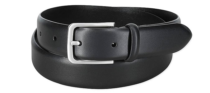 MEN LEATHER STITCH FREE BELT