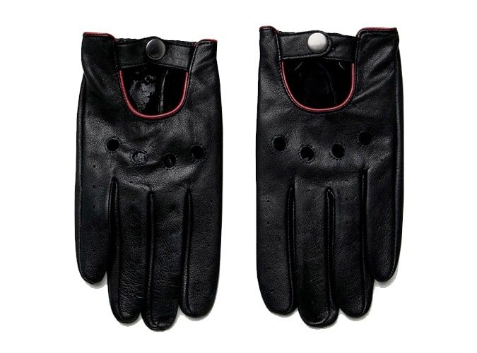 ASOS DESIGN Leather Driving Gloves