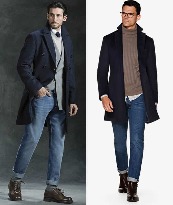 How to wear mid-wash jeans in a smart look