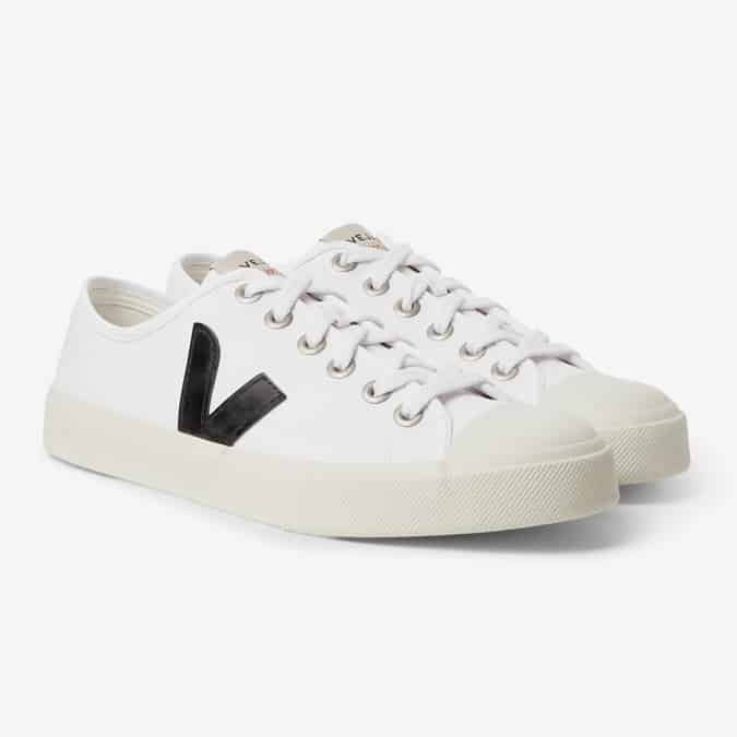 VEJA Wata Rubber-Trimmed Organic Cotton-Canvas Sneakers