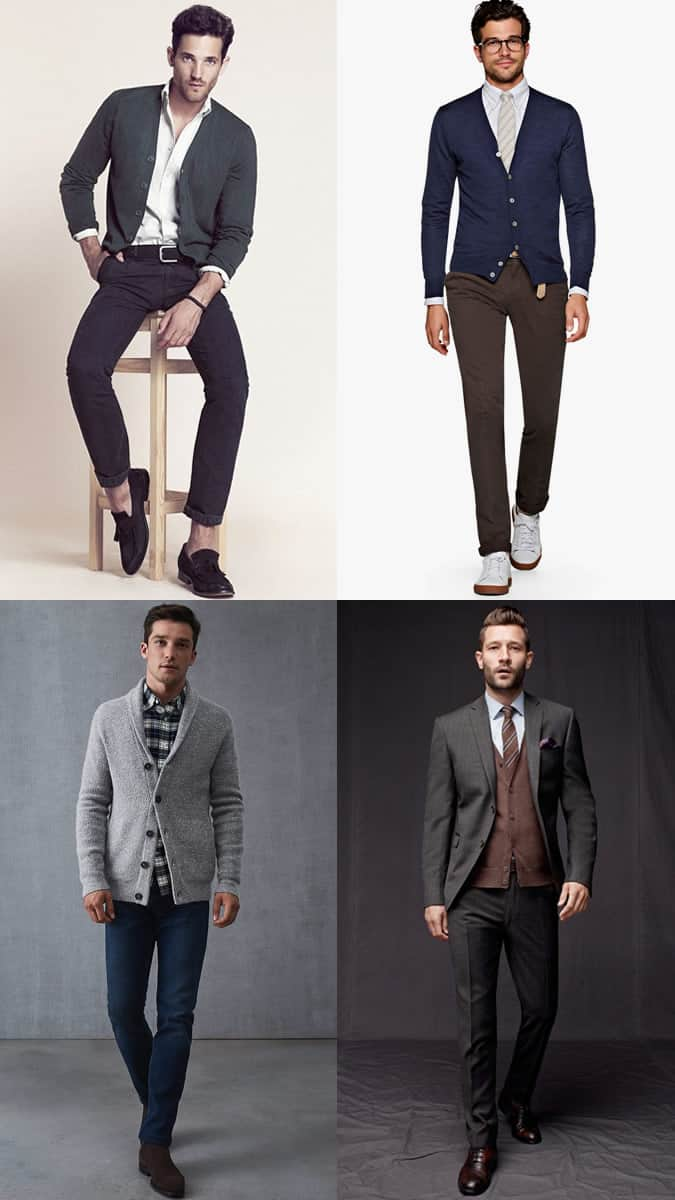 How to wear a cardigan for the office