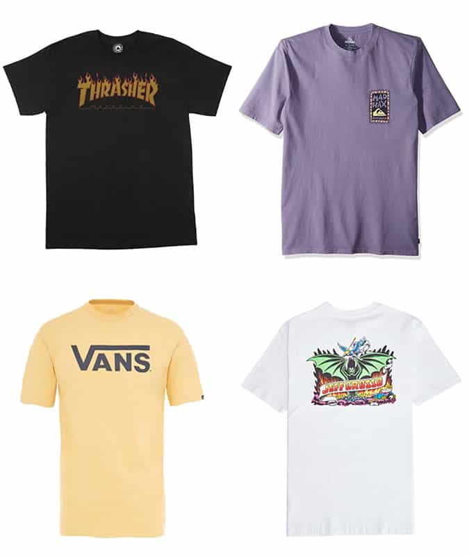 The best skate and surf tees