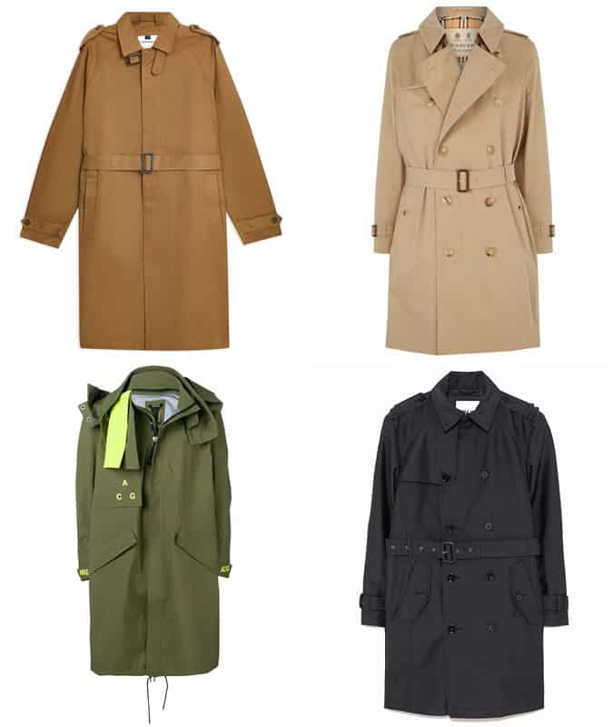 Big Trench Coats for men