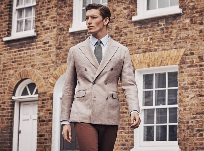 stylish man - hackett aw18