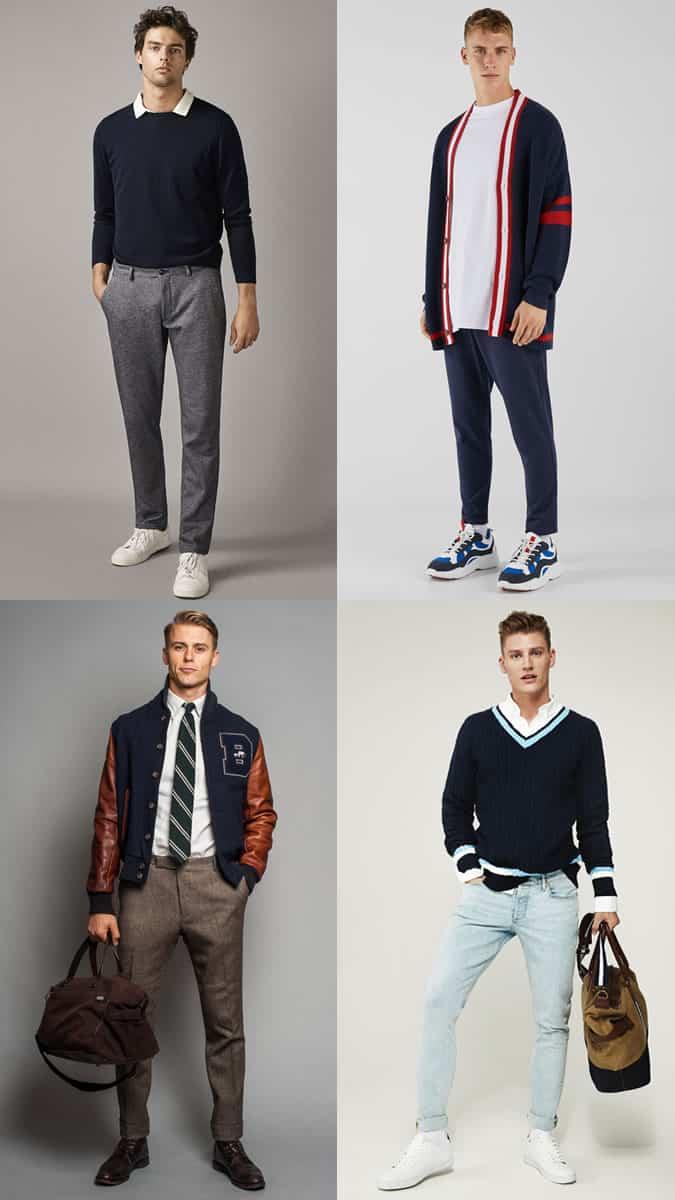 Preppy clothes for men
