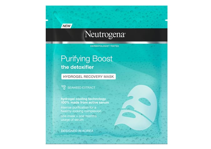 Neutrogena Purifying Boost Hydrogel Recovery Mask