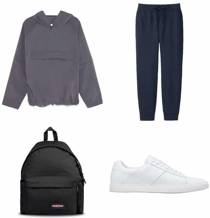 High street fashion sportswear