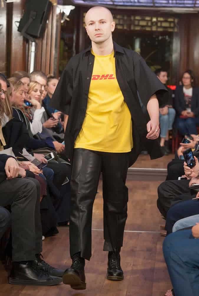Vetements DHL T-Shirt