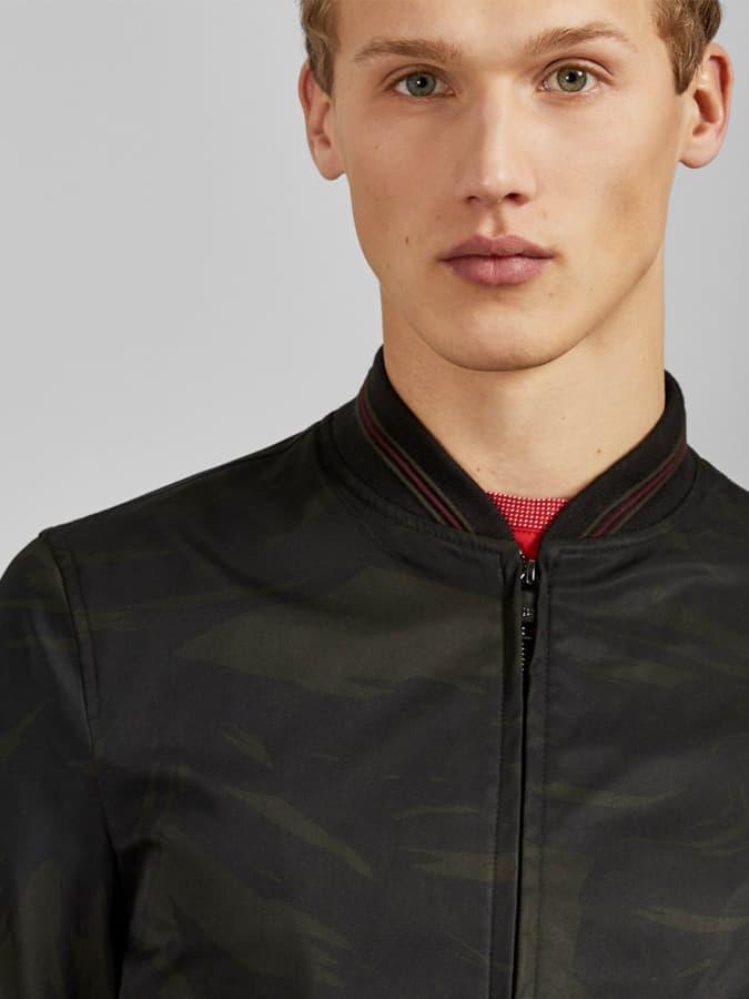 Sway Printed Bomber Jacket