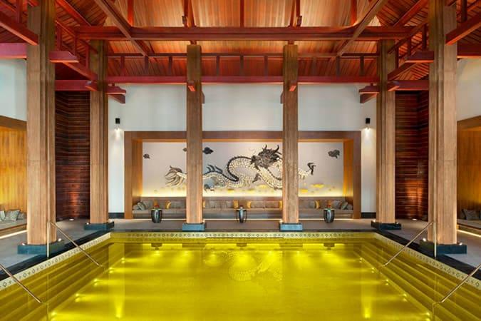Pool At St. Regis Lhasa Resort