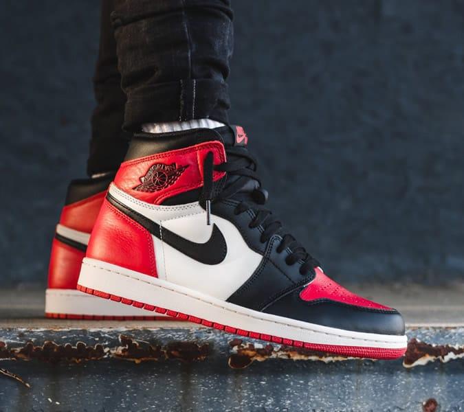 Air Jordans on Feet