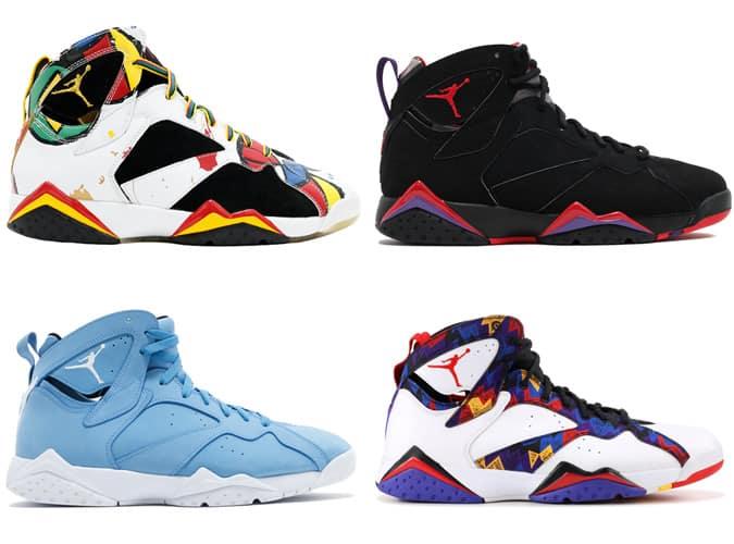 Best Air Jordan VII Sneakers