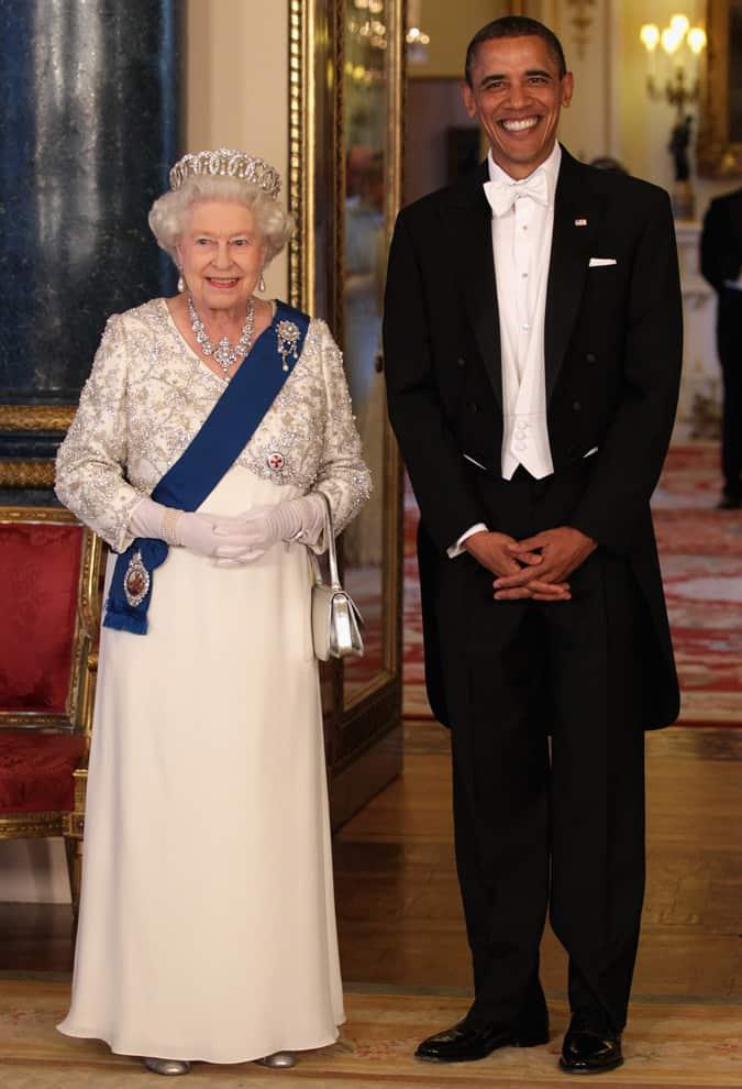 Barack Obama White Tie