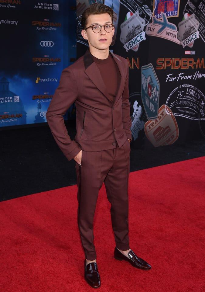 Tom Holland Celebrity Style
